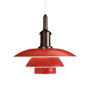 PH 3 1/2-3 Pendent Red